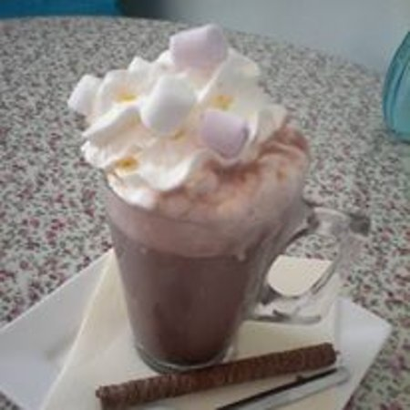 Chateauponsac, France: Hot Chocolate
