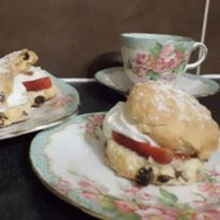 Chateauponsac, France: Cream Teas