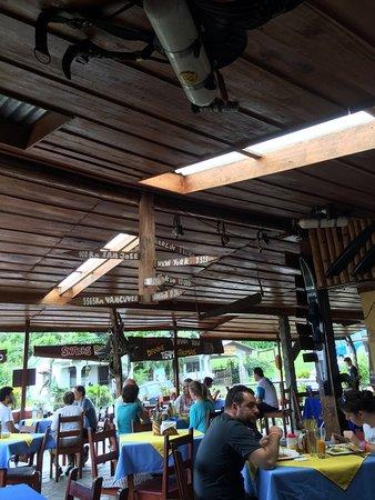 Nuevo Arenal, Costa Rica: Le restaurant