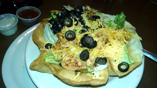 Saint Regis, MT: Taco Salad, was good!