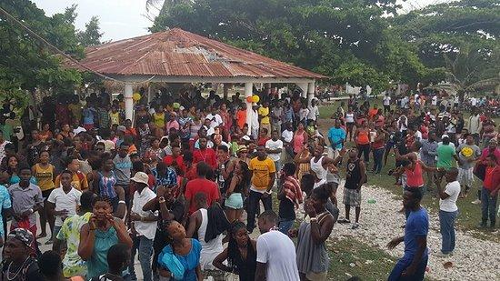 Cotes de Fer, เฮติ: 2016 Festi Fond des Blancs @Grann Do Beach