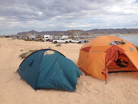 Big Water, UT: Morning after a noisy night
