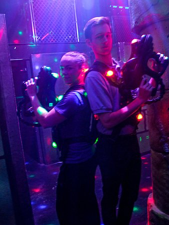 Centerville, OH: laser tag