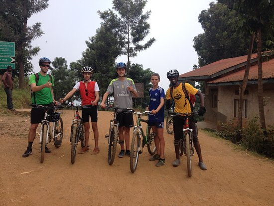 join us for biking for 2 days from Gisenyi to Kibuye