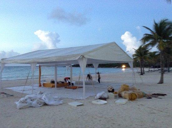 Tent Setup For Sikh Wedding At Maya