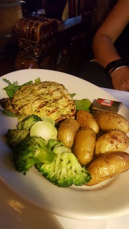 The Nova Restaurant & Wine Bar: aji chicken