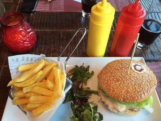 Mersch, Luksemburg: Hamburger