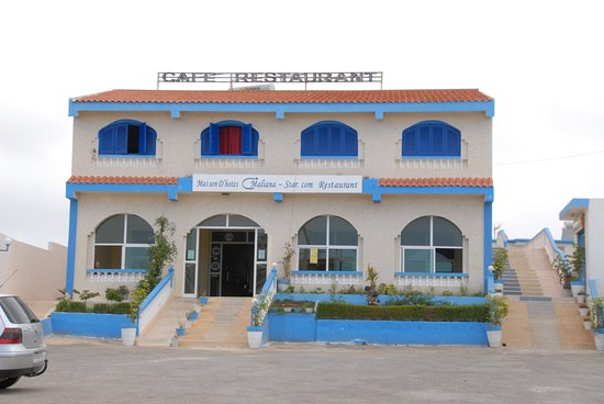 Mellalyene, Morocco: Front of hotel