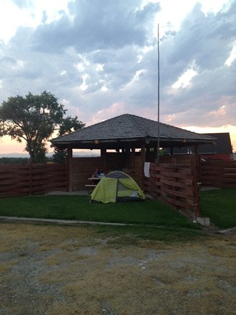 Choteau, MT: Tent spot