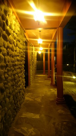 Musanze, Rwanda: Alley at the main building