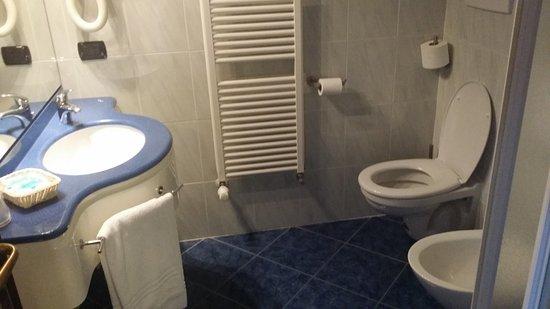 Hotel La Bussola: Salle de bain WC