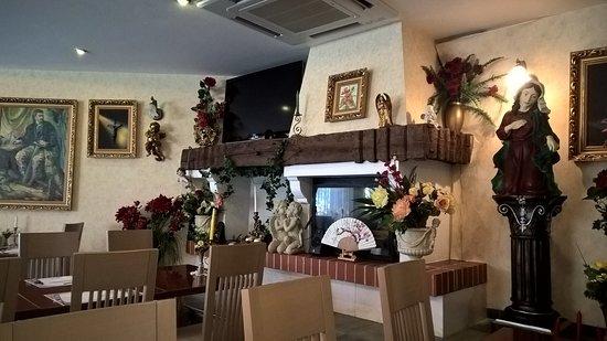 Cerklje, Slovenya: sala ristorante