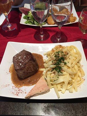 Petit restaurant Parisien bon mais ...