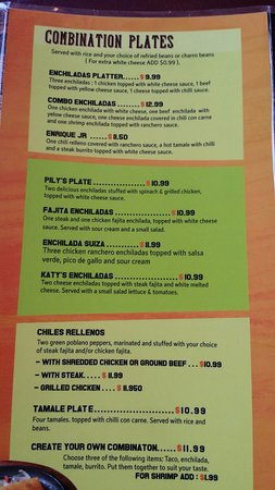 fernandos walker menu 2 picture of fernando s mexican restaurant