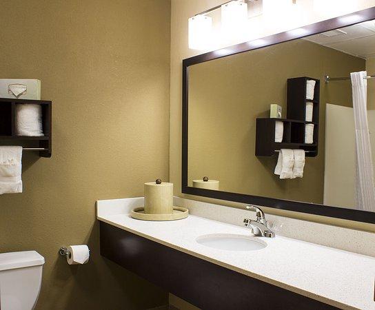 Comfort Suites Regency Park: Remodeled Bathrooms - May 2016