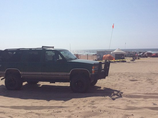 Oceano, Californië: My first time there with my Suburban