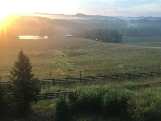 Salesville, OH: sunrise