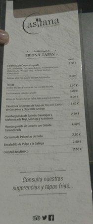 Ecija, Spain: Casitana...imaginación en la mesa