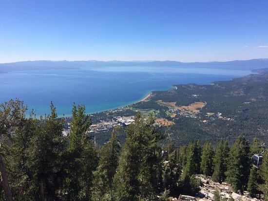 South Lake Tahoe, Californien: View of lake from mid-point platform