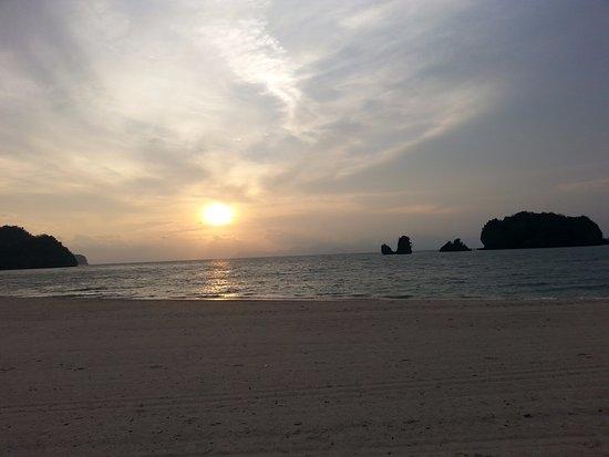 Tanjung Rhu Resort: Enjot the sunset