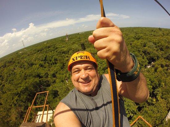 Yucatan Explorer: paseando por los arboles