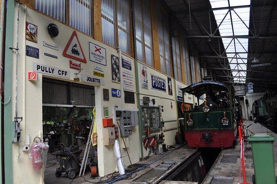 Railway Museum Blonay-Chamby: Вот такой формат музея