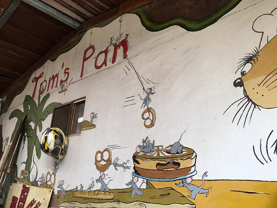 Nuevo Arenal, كوستاريكا: Décoration murale