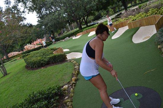 Plenty Of Bunkers Picture Of Disney S Fantasia Gardens Miniature Golf Course Kissimmee Tripadvisor