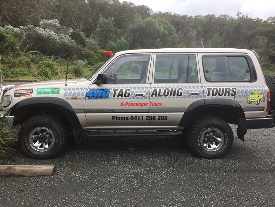 4WD Tag-Along & Passenger Tours: Our mode of transport