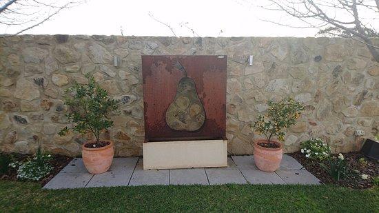 Willunga, Australia: view in courtyard