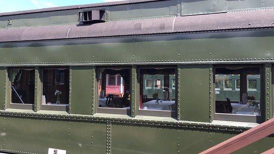 Essex, CT: Ein Speisewagon