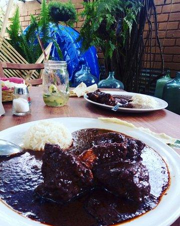 San Andres Huayapam, Mexico: Mole negro #molenegro #domingo
