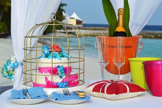 W Maldives: Beach Wedding Setup