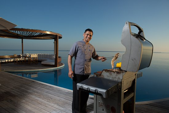 W Maldives: Private Dining Setup at WOW Suite