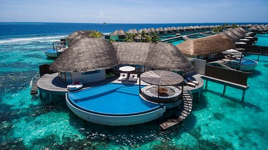 W Maldives: WOW Suite Aerial View