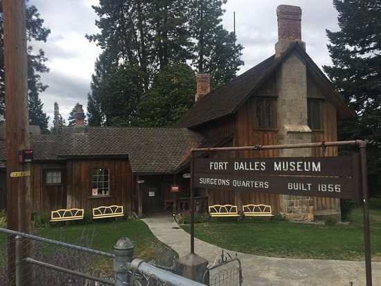 Fort Dalles Museum and Anderson Homestead: Fort Dalles Museum 1856