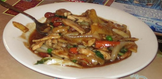 Columbia Falls, MT: Stir Fry Almond
