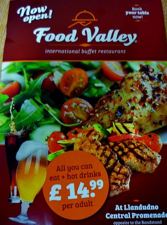 Food Valley flyer