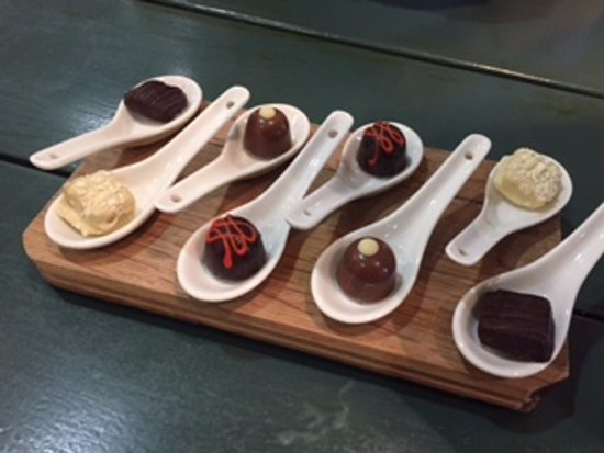 Kuils River, África do Sul: Chocolate & wine pairing