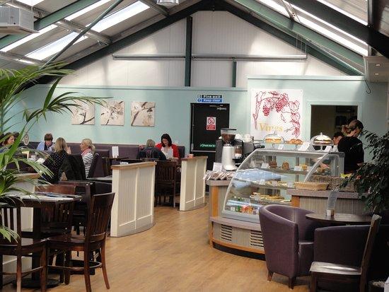 Surrey, UK: Vines Coffee Shop