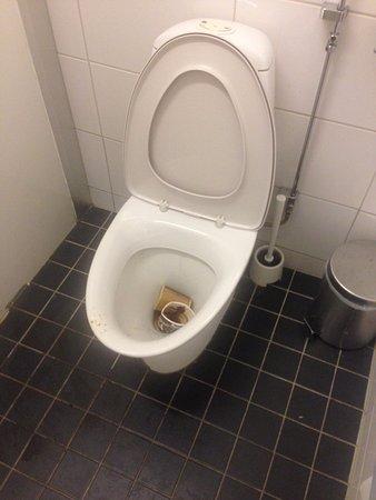 Alvsjo, Sverige: 1 av de gemensamma toaltterna