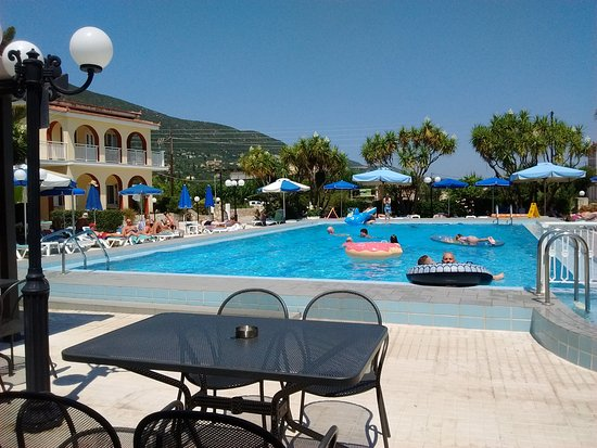 Alykes Garden Village: View from the pool bar