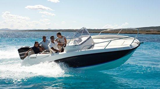 Can Pastilla, Ισπανία: QuickSilver Activ 605 Sundeck (7p/150hp/ski) - 290€/4h, 390€/day