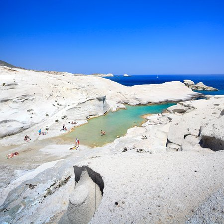 Cyclades, Greece: MILOS Sarakiniko