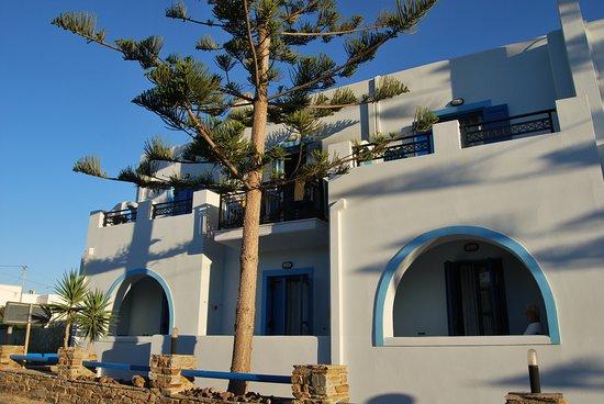 Agios Prokopios, Grecia: Hotel y alrededores