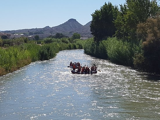 Blanca, إسبانيا: Rafting Segura Bronzage assuré