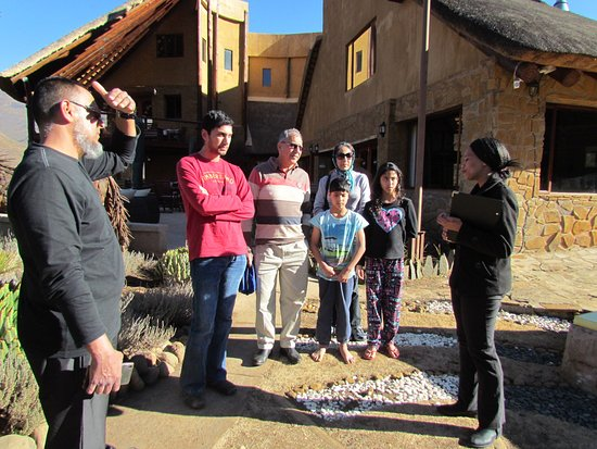 Maliba River Lodge: Introduction to the Lodge by friendly staff