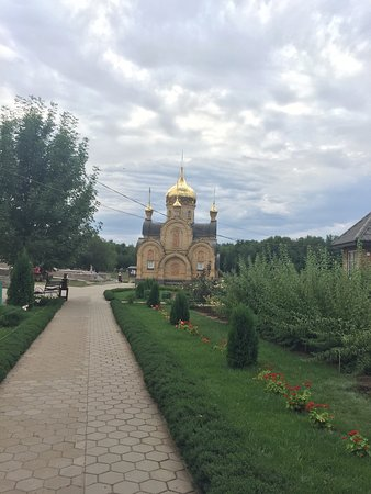 Holy-Water Chapel at the Church of the Tabunsk Icon of Mother of God
