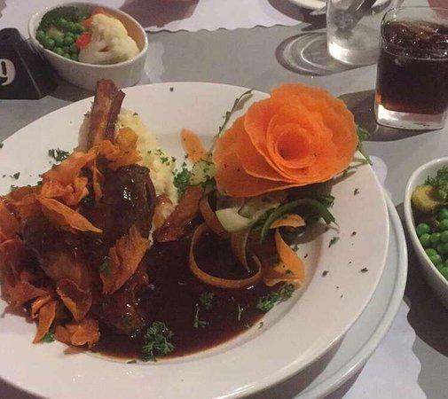 Peterborough, Australia: Roundhouse Motel - Restaurant