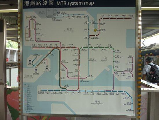 Hong Kong MTR system map Picture of MTR Hong Kong TripAdvisor